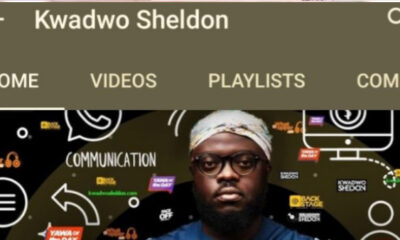 YouTube Restores Kwadwo Sheldon's YouTube channel After Terminating It
